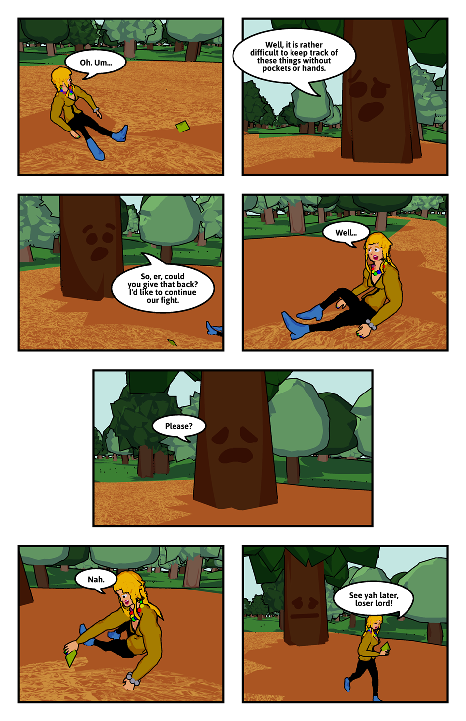 The Disadvantages Of Being A Tree